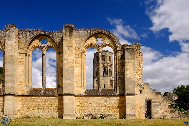 Le Chameau Bleu - Blog Voyage à vélo en Gironde - Abbaye de la Sauve Majeure