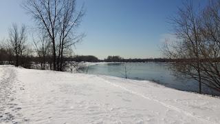 Parc de la Merci l'hiver, Montréal