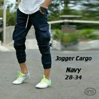 celana jogger, celana jogger cargo, celana jogger pria