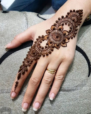 130 Simple And Easy Mehndi Designs For Hands Bling Sparkle,Dubai Design District