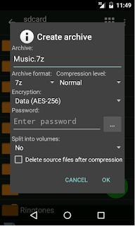 ZArchiver Pro v0.8.6 Final Apk