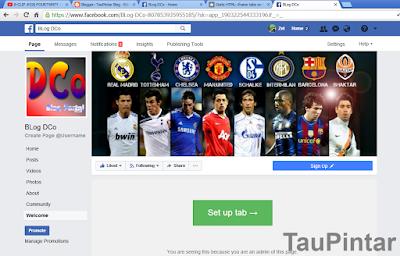 Pasang Iklan Google Adsense di Fanspage Facebook