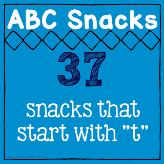 foods that start with t, letter of the week snacks, letter of the week T, preschool lessons, homeschool preschool, alphabet snacks, abc snacks