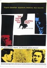 """Carátula del DVD: """"El hombre con el brazo de oro"""""""