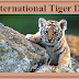 Global Tiger Day Celebrated on 29th July 2019