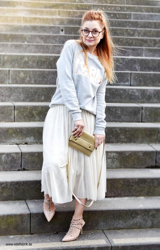 Studded Heels, Karl Lagerfeld Sweatshirt