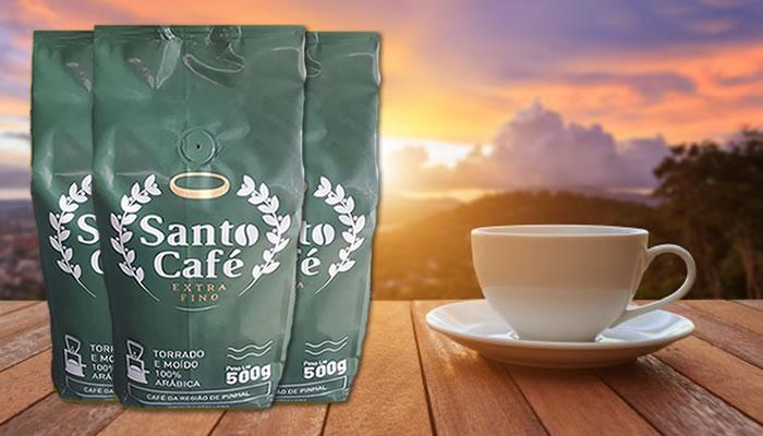Santo Café lança linha 100% arábica