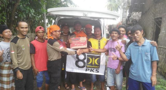 Masyarakat Berbondong-Bondong Percayakan Bantuan untuk Korban Tsunami Ke PKS