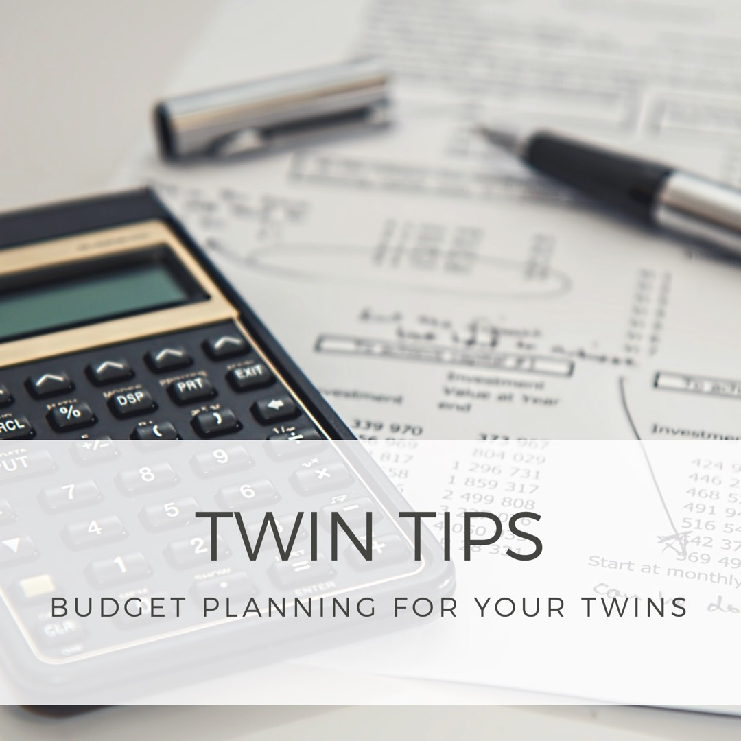 twin tips budget planning for twins