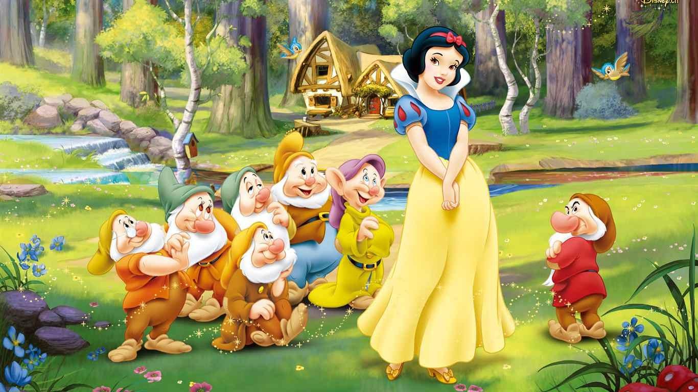 Blancanieves y los 7 Enanitos, cuentos para niños