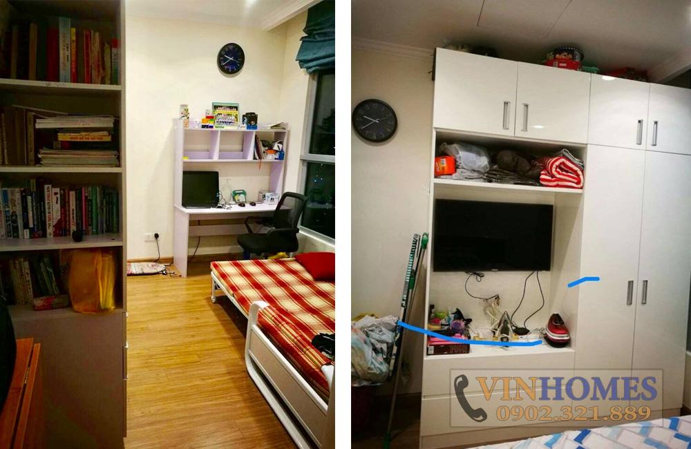 thuê căn hộ Vinhomes Bình Thạnh tòa C2 tầng 30 - nội thất căn hộ