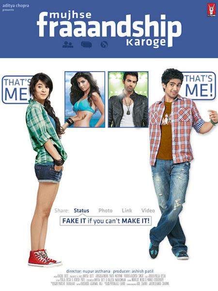 Poster of Mujhse Fraaandship Karoge 2011 720p Hindi HDRip Full Movie Download