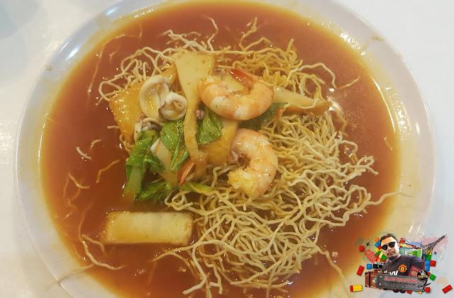 Crispy Mee Sos Tomato | Restoran Dapur Sarawak