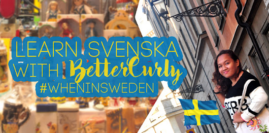 Learn Svenska with BetterCurly