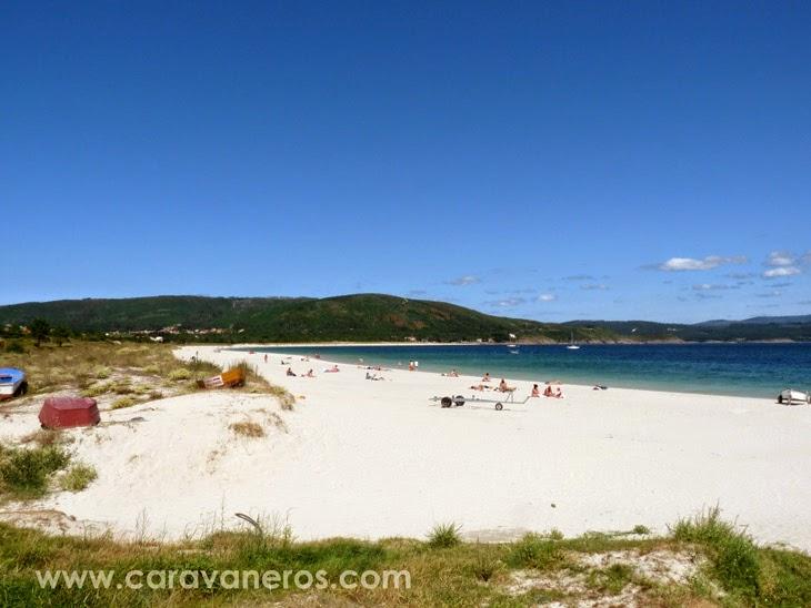 Foto de la Playa de Langosteira (Finisterre) | caravaneros.com