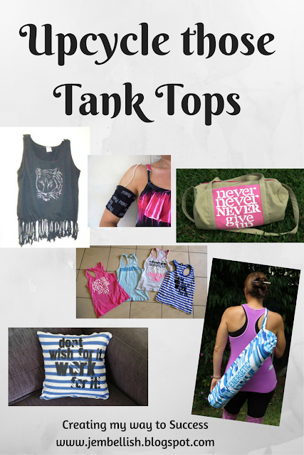 Upcycling Tank Tops