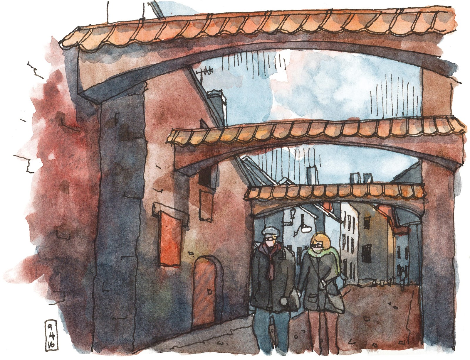 the beauty and grit of tallinn urban sketchers