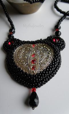 mytha jewelry wisior serce