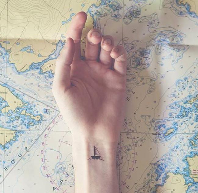 Top 45 hình xăm cho dân phượt, hình xăm cho người thích du lịch
