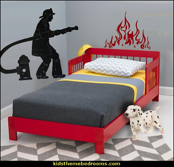 Decorating theme bedrooms - Maries Manor: fire truck ...