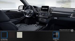 Nội thất Mercedes AMG GLS 63 4MATIC 2017 màu Đen 531