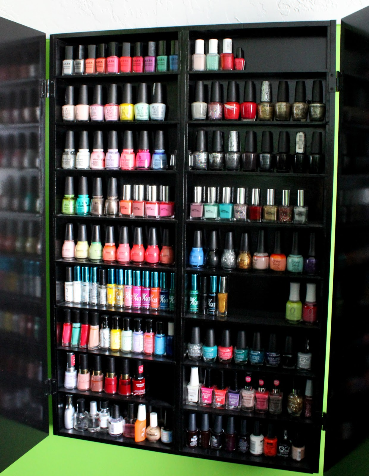 Squibs And Crackers How To Build A Nail Polish Cabinet