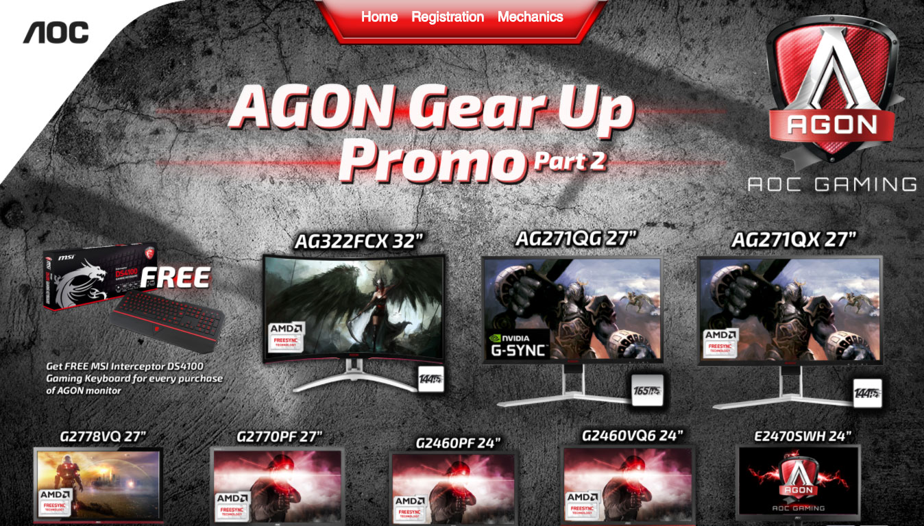 AGON Gear Up Promo Part 2