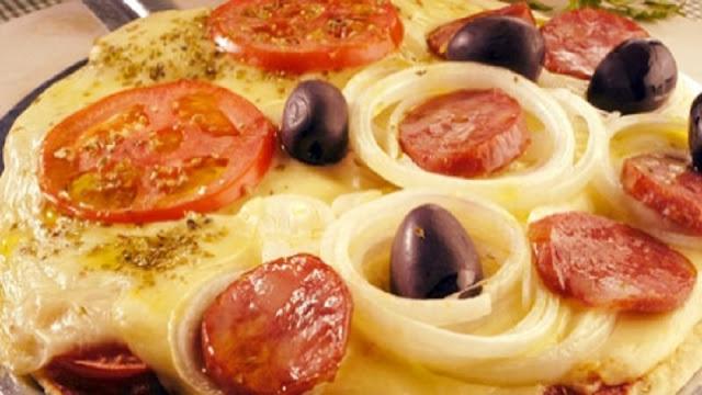 Recheio para Pizza de Calabresa com Muçarela (Imagem: Reprodução/Ola Serra Gaucha)