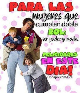 mujeres padres