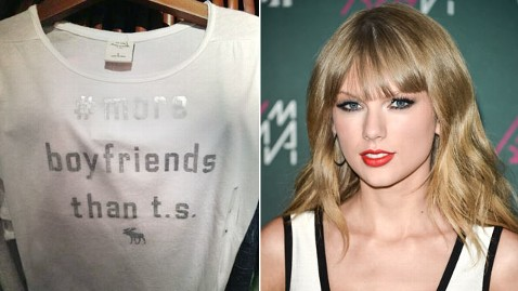 # more boyfriends than t.s. Taylor Swift T-Shirt