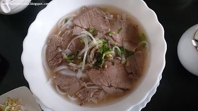 vina trang vietnamese cuisine well done flank brisket
