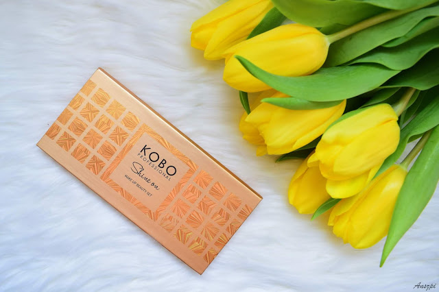 Paleta cieni Shine on Make up Beauty Set Kobo Professional