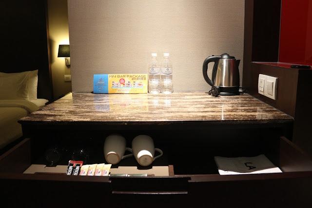 Mini bar hotel Grandis