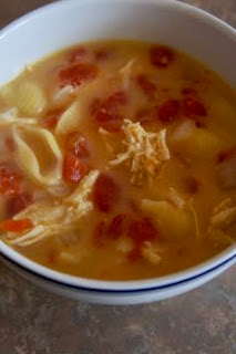 Cheesy Chicken Soup: Savory Sweet and Satisfying