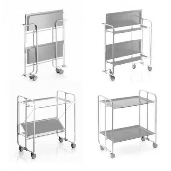 carritos de cocina de piezas auxiliares a protagonistas