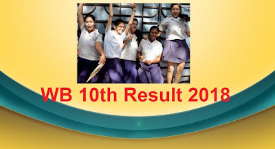 WB 10th Result 2018, West Bengal Madhyamik Results 2018