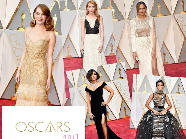 Oscars 2017 - Os Vestidos da Noite