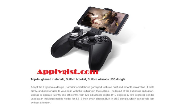 GameSir G4s 2.4Ghz Wireless Controller Bluetooth Gamepad for Android TV BOX Smartphone Tablet PC