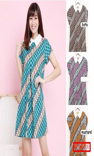 Gambar Model Baju Batik Casual