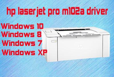 HP LaserJet Pro M102a driver - TONERCOM