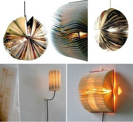 DIY How To Make Lamps From Recycled Materials 7