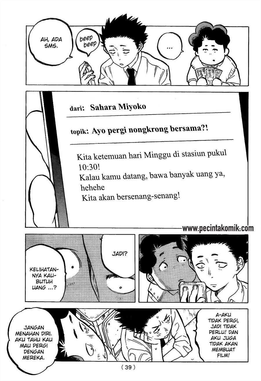 Koe no Katachi Chapter 17-4