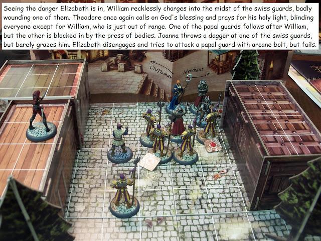 Nova Aetas board game painted play through Used! scenario 0.3