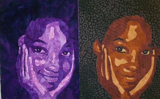 Portraits of my Granddaughter, Truly and More Quilts