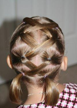 Cute%2BEasy%2BHairstyles%2BFor%2BLittle%2BGirls%2B%252815%2529 30 Cute Easy Hairstyles For Little Girls Interior