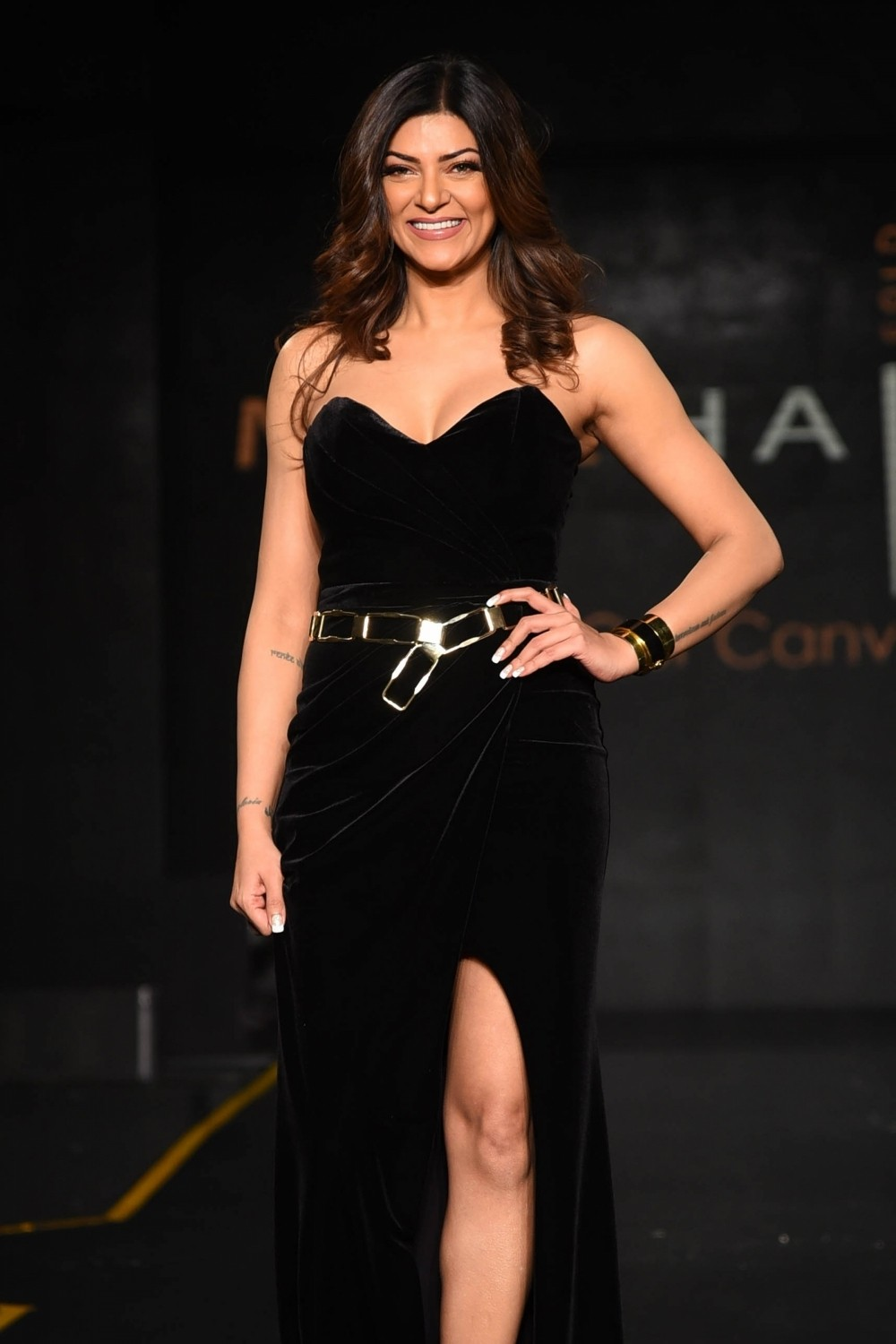 "Sushmita Sen Launches Hair Care Brand ""MOEHAIR"""