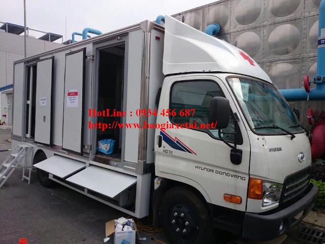 Xe Y tế chụp Xquang Hyundai