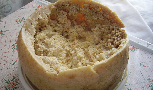 Γνωρίστε το πιο…τρομακτικό τυρί στον κόσμο!