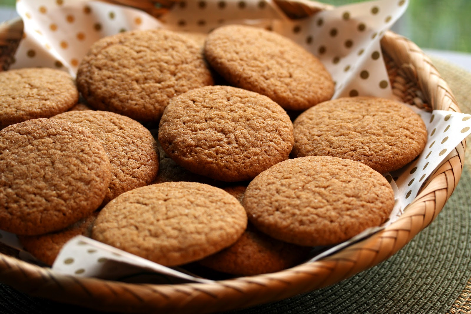 Ginger Snap Cookies Saving Room For Dessert