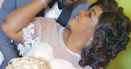 dayo amusa secret wedding photos